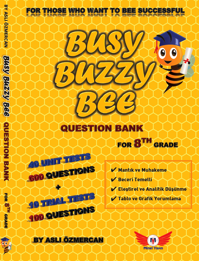 BUSY BUZZY BEE QUESTION BANK FOR 8TH GRADE